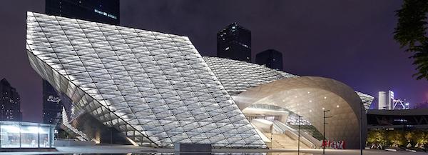 [중국 건축 디자인] 빛을 디자인하다. Lighting Facade