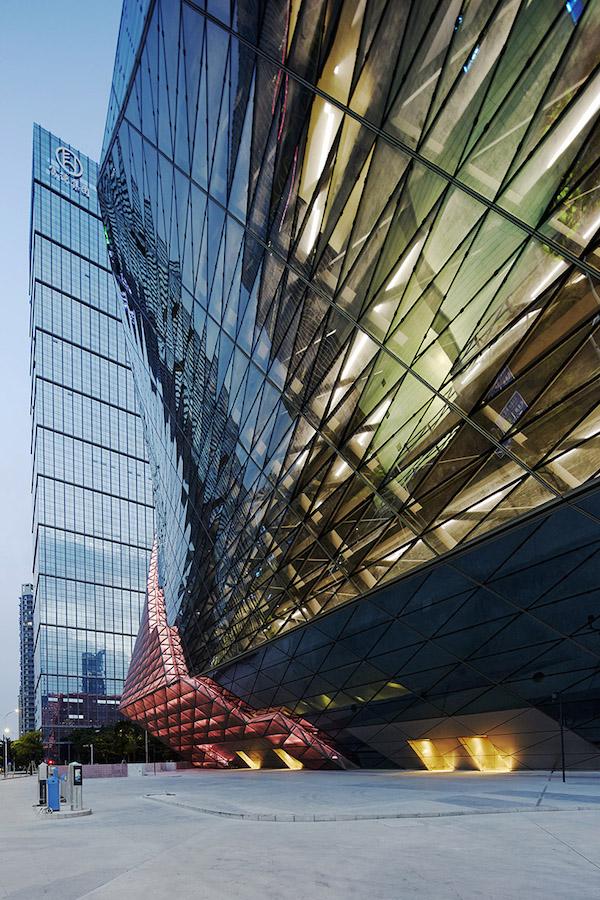 [중국 건축 디자인] 빛을 디자인하다. Lighting Facade - 이미지