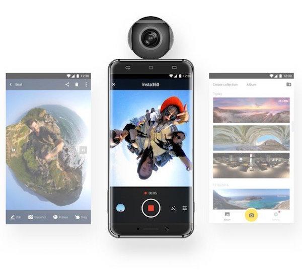 [중국 제품 트랜드] VR을 위한 스마트폰 악세사리 insta360 - 이미지