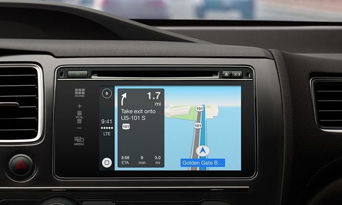 애플 iOS 체제 자동차 시대 개막 - 이미지