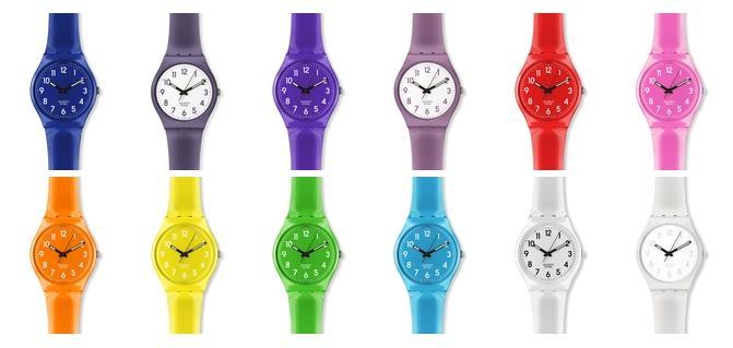 감성의 시간 Swatch