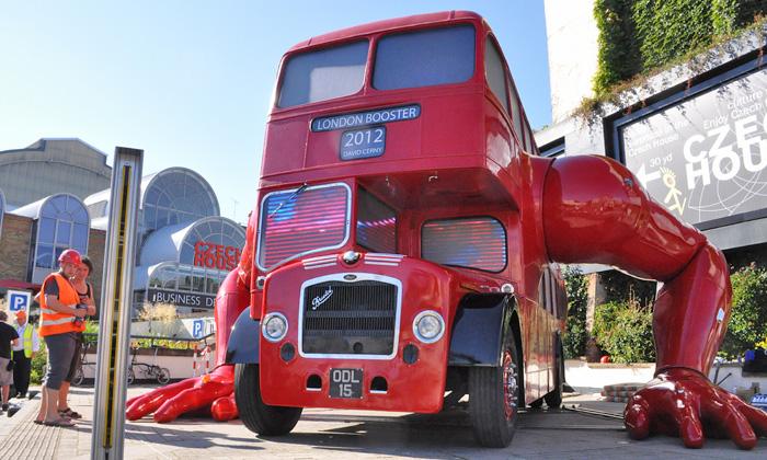 런던 2012 기념, 새롭게 탄생한 런던..