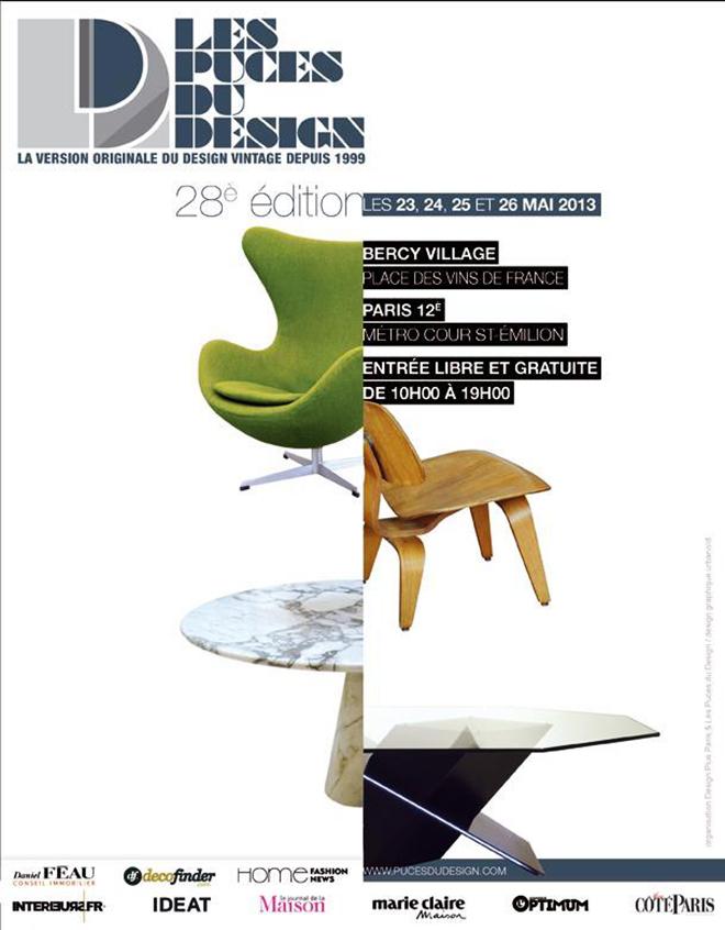 디자인 벼룩시장-Puces du Design..