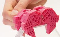 [소재] 플라스틱 조각 하나로 메커니즘을 구현하는 메타 소재