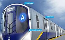 현대적 디자인으로 탈바꿈하는 뉴욕시 지하철