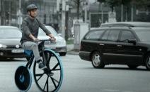 최초의 자전거, 신소재를 입다