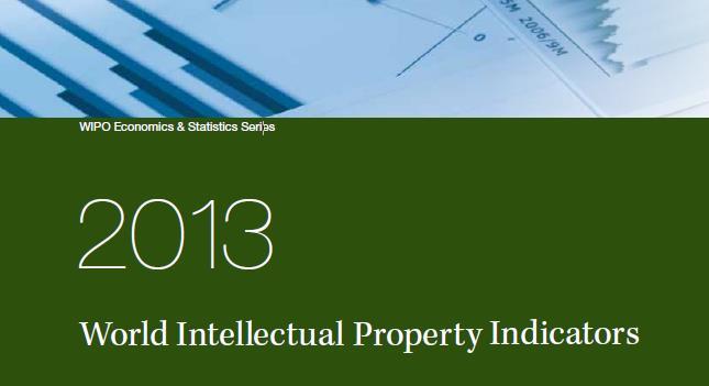 World Intellectual Property Indicators, 2013