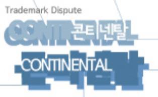 '한글+영문' 상표의 일부 사용